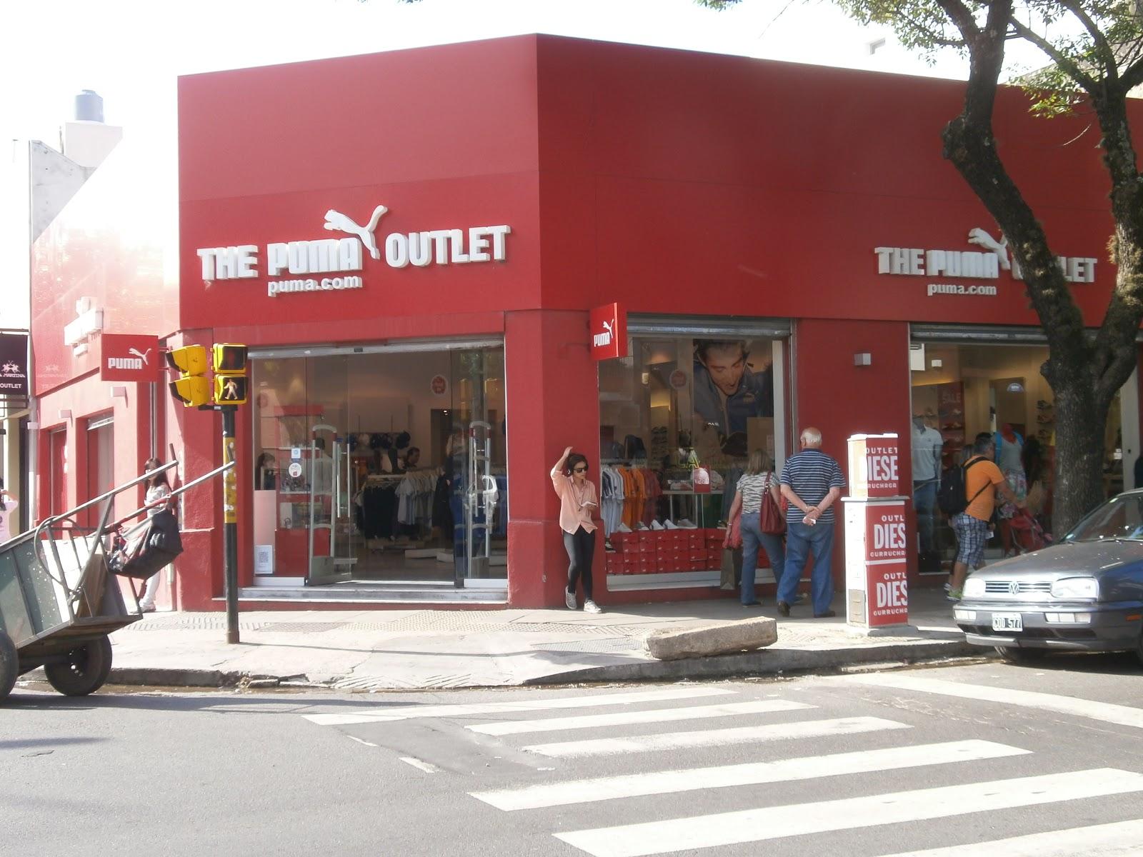 Comprimido Aclarar Instituto  Outlets en Zona de Palermo, Buenos Aires, ventas de ropas de moda: Puma,  Aguirre 801