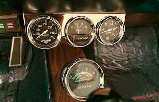 1967 Pontiac LeMans GTO Convertible Speedometer