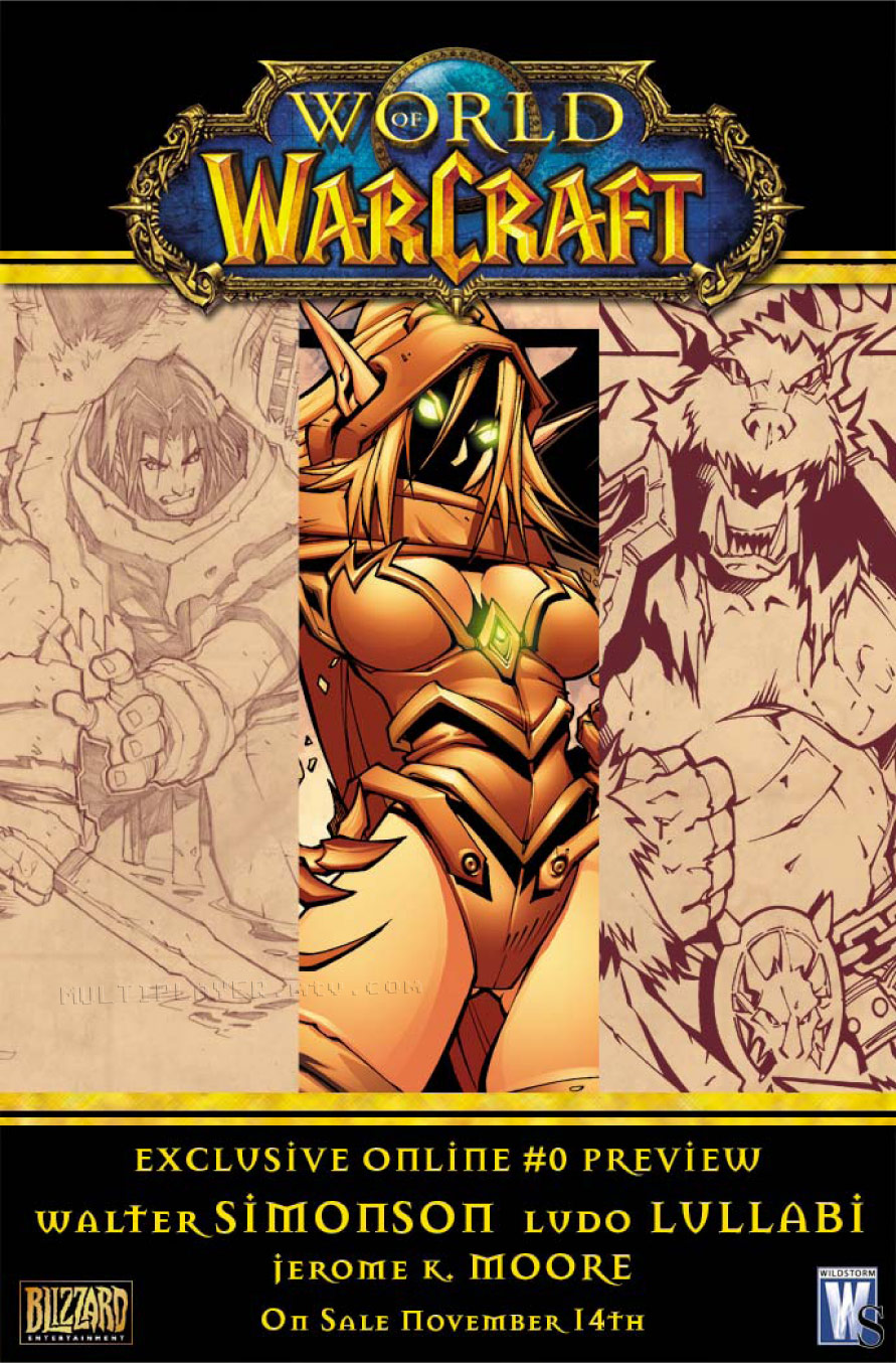 World of Warcraft issue 0 - Page 1