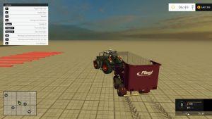 Fliegl T MK266ACRYL Bull trailer