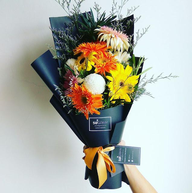Popular Florist At 50Gram Malaysia 1st Video Bonquet