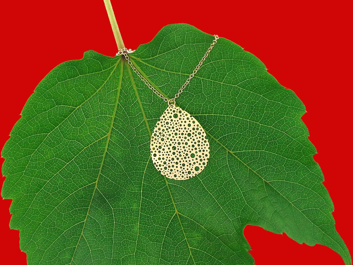 Beautiful filigree necklace by LAVISHY, great gift idea!