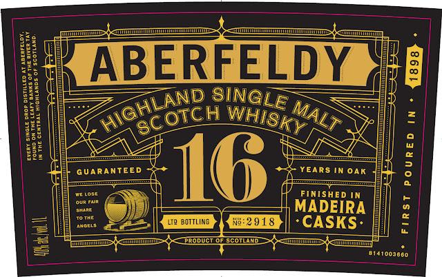 Aberfeldy 16YO Madeira finish