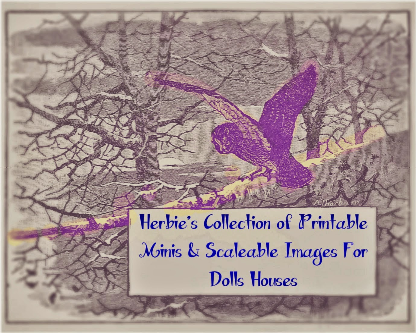 For Dollshouse Printables go to: