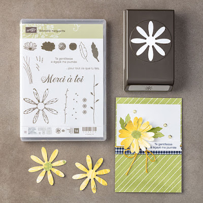 lot adorable marguerite stamping