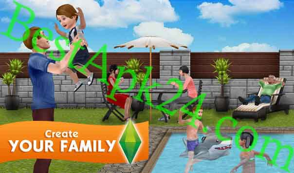 The Sims FreePlay MOD APK (Unlimited Simoleons) v5.32.1 Download Bestapk24 3