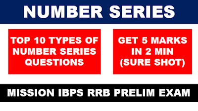 Tricks to solve Number Series Questions for Competitive Exam