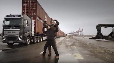 volvo kamyon 750 ton yük çekiyor