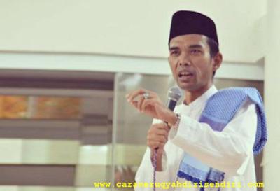 Cara Meruqyah Diri Sendiri Menurut Ustadz Abdul Somad, LC.