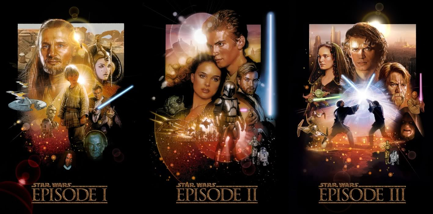 revealed in time star wars the prequel trilogy episodes i ii iii