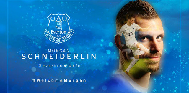 Schneiderlin é o novo reforço do Everton