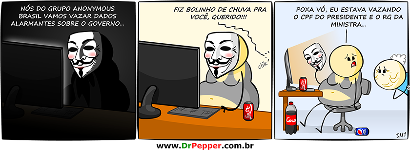Anonymous BR vs Governo