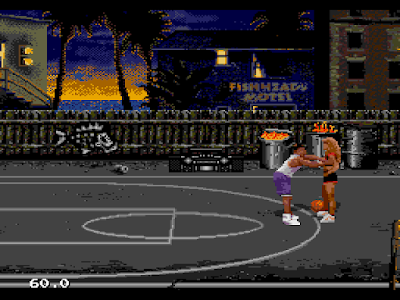 【MD】街頭籃球(Jammit),無聊就來打球鬥牛吧!