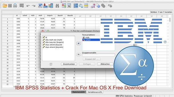 ibm spss mac download free