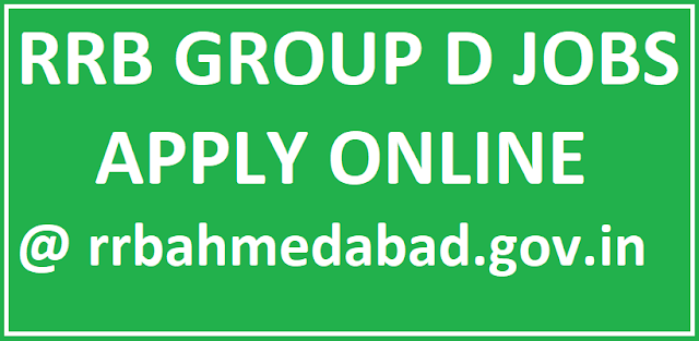 RRB Group D Jobs Application Form
