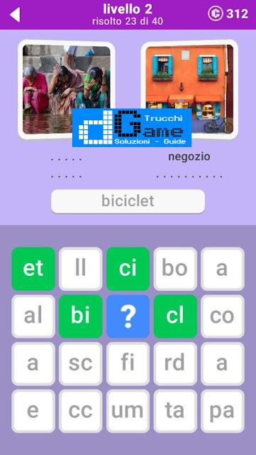 680 Parole soluzione pacchetto 2 livelli (1-20)