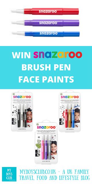 Win Snazaroo Brush Pen Face Paints