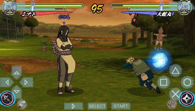 Naruto Ultimate Ninja Heroes PPSSPP ISO