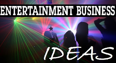 Small businesses in the entertainment industry