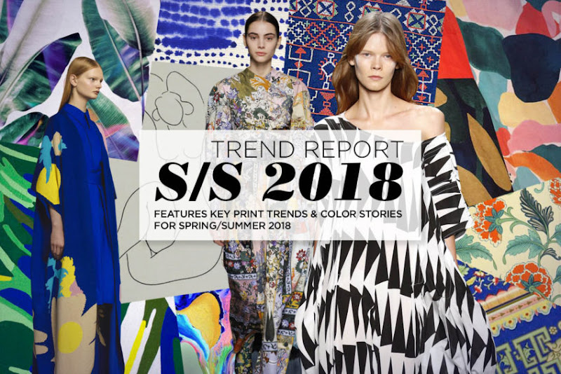 Spring summer 2017 fashion trends forecast - Trends Pattern People Print And Color Trend Spring