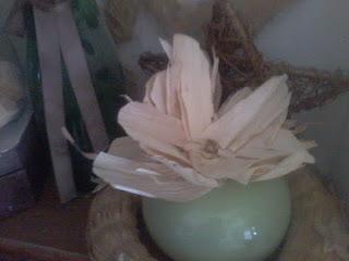 riutilizzo pannocchie fai da te fiori