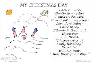 my christmas day 2016 rhyme