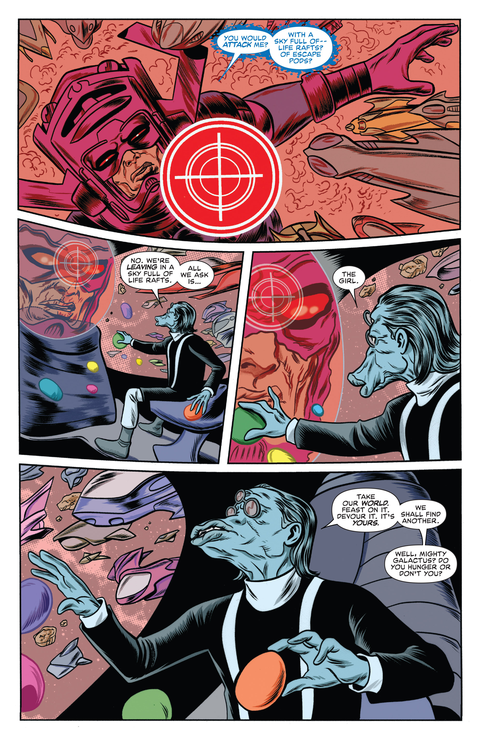 Read online Silver Surfer (2014) comic -  Issue #10 - 17