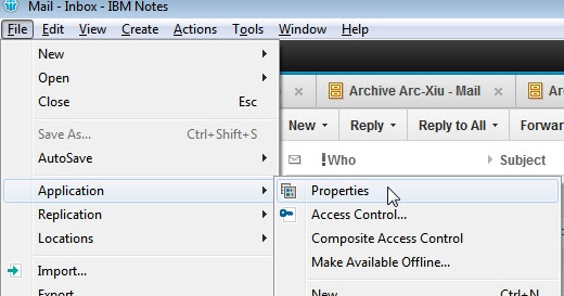 How to Reduce Archive Size on Lotus Notes ~ Xiu's Blog