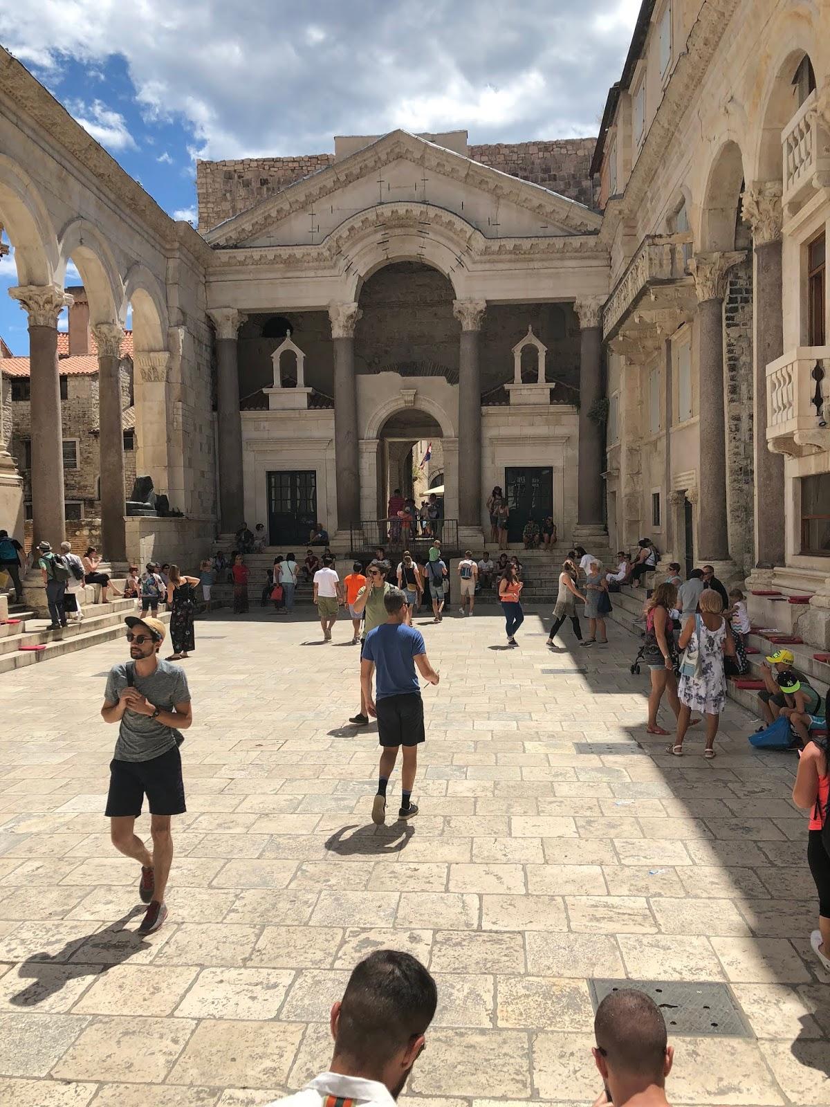 Split, Croatia: 43.5081° N, 16.4402° E