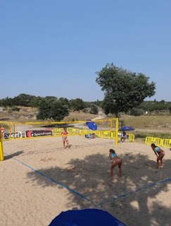 SPORTS AREAS / Campo Vólei, Futebol de Praia, Barragem de Póvoa e Meadas, Castelo de Vide, Portugal
