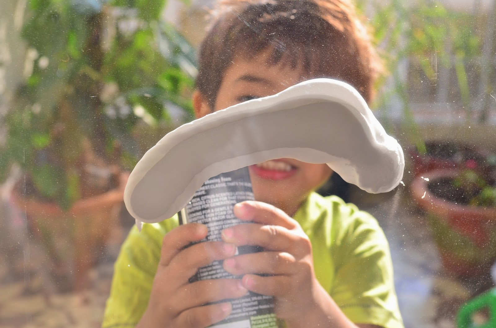 13 Non-Traditional Art Supplies for Preschoolers: Shaving Cream