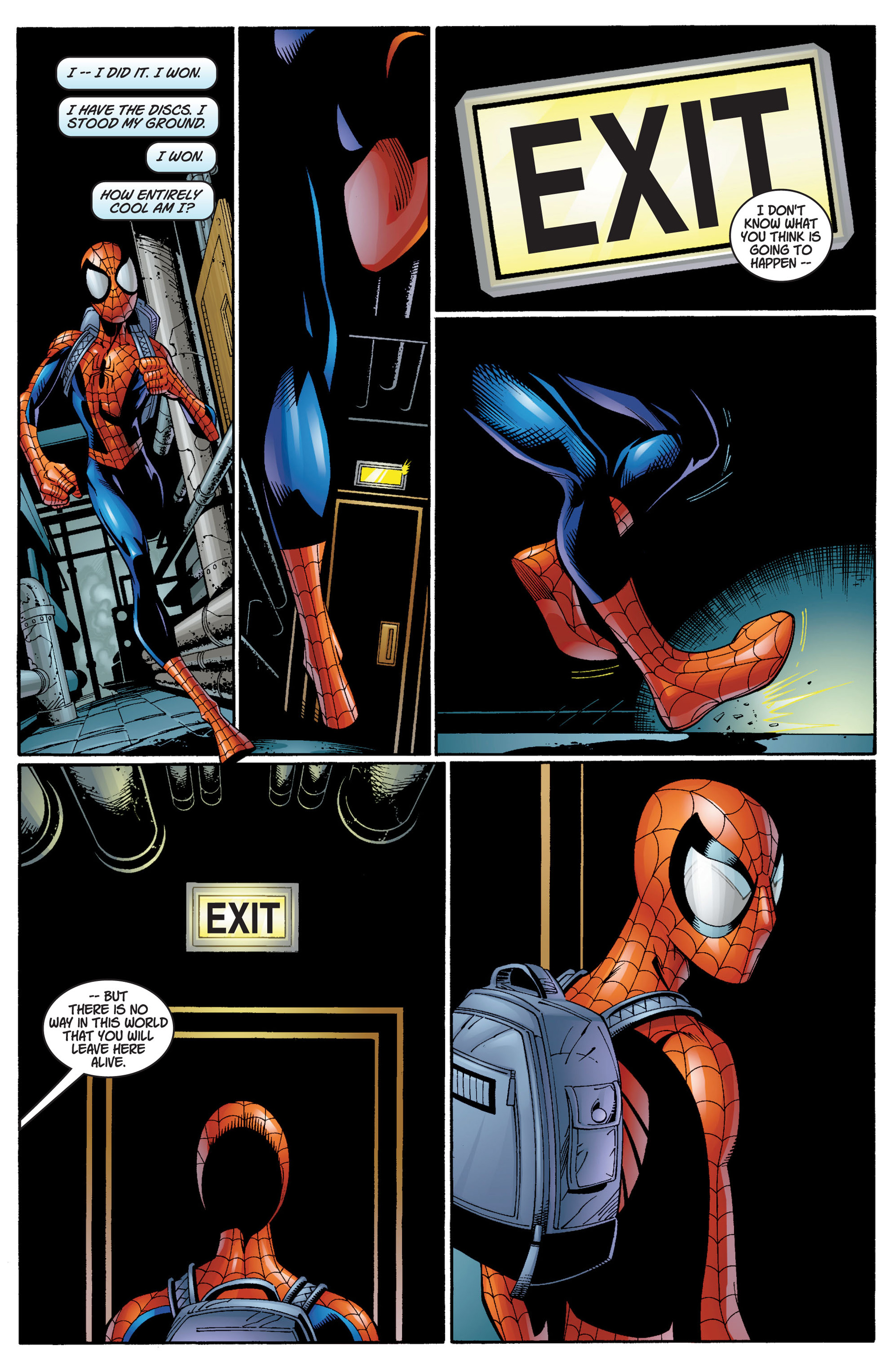 Read online Ultimate Spider-Man (2000) comic -  Issue #12 - 11