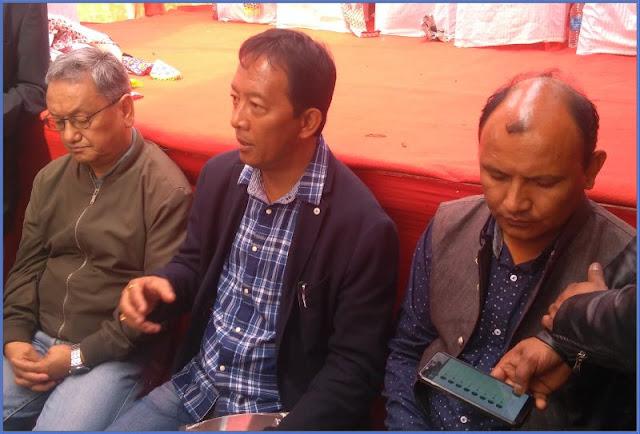 Binay Tamang Amar Singh Rai at sittong