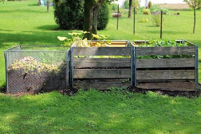 Three bin compost pins