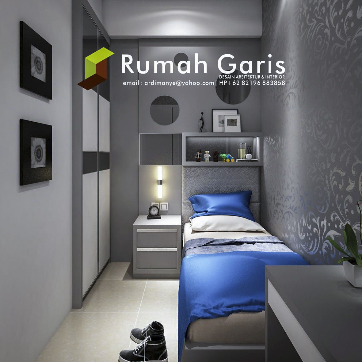 Desain interior apartemen mewah konsep klasik minimalis