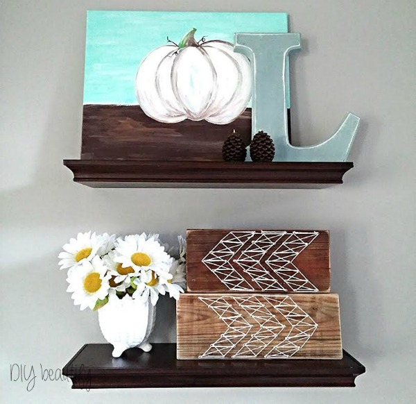 make a temporary berry front for an existing wood letter