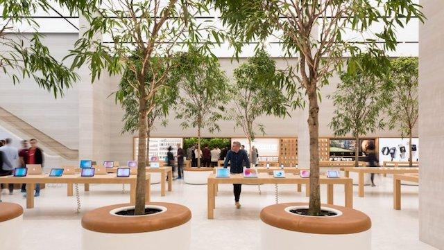 Loja apple em Londres