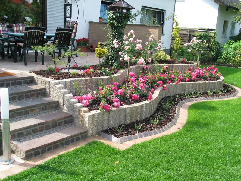 jardines bonitos para casas - Jardines Bonitos
