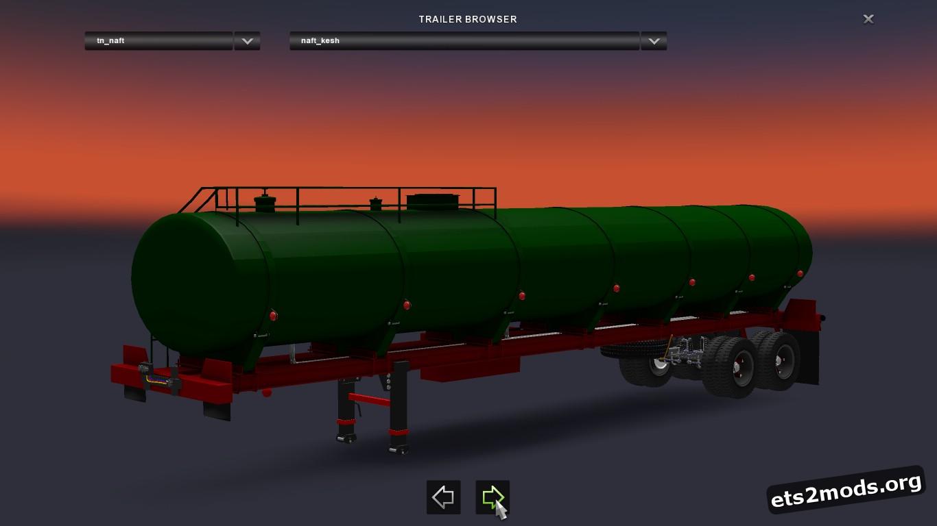 Iranian Trailer Tanker