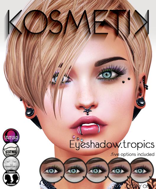 .kosmetik Eyeshadow.tropics