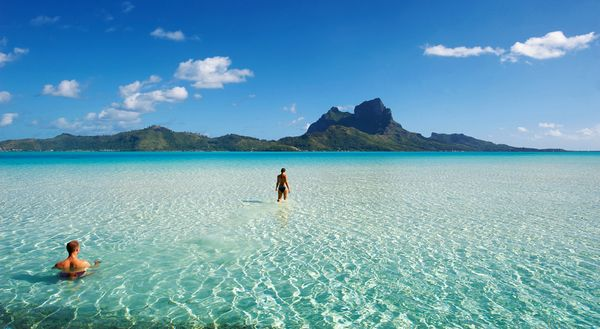 bora bora beach stunning best beach resort