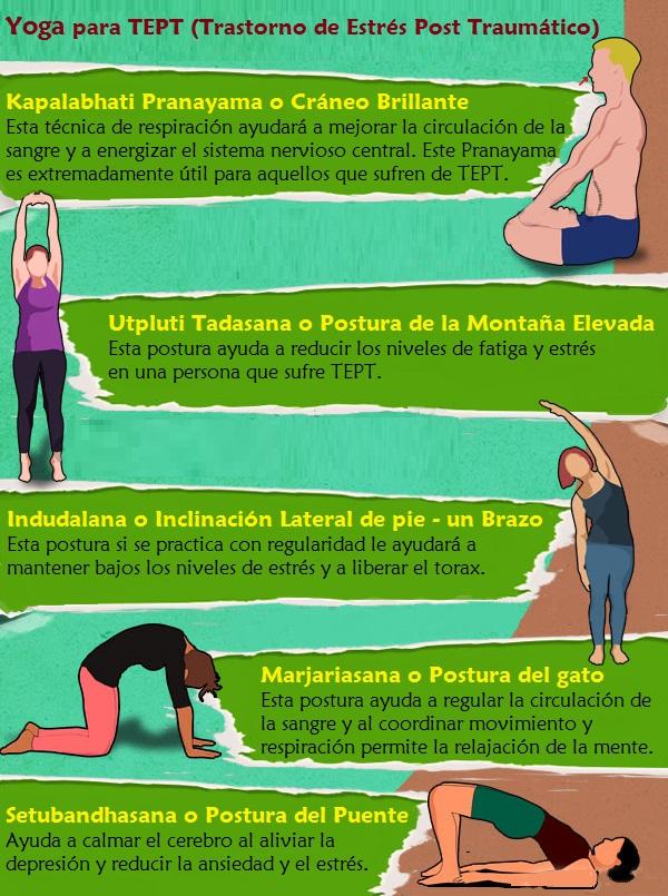 Breve sesión de Yoga para aliviar el Trastorno de Estrés Postraumático  (TEPT) ecdd9affede1