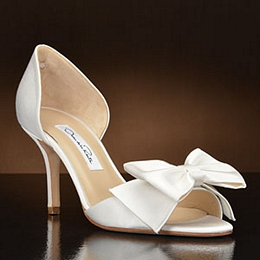 Dani 6833 Ivory Oscar De La A Bridal Shoes