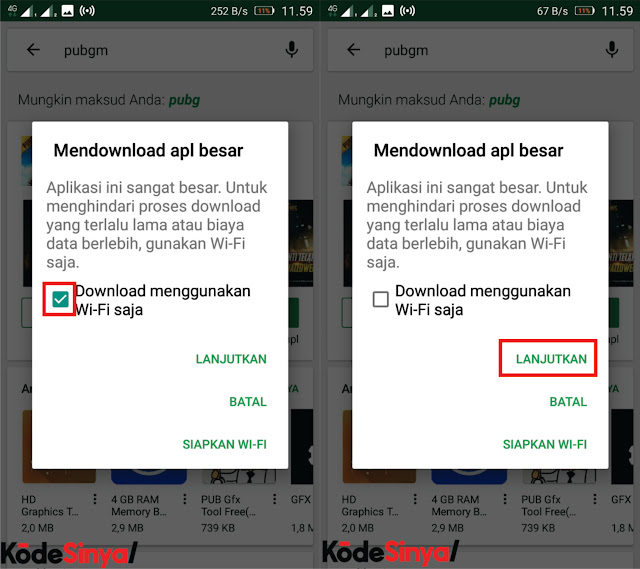 Mengatasi Download Tertunda