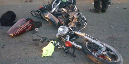 Tres heridos al chocar dos motocicletas en carretera Villa Riva – Arenoso