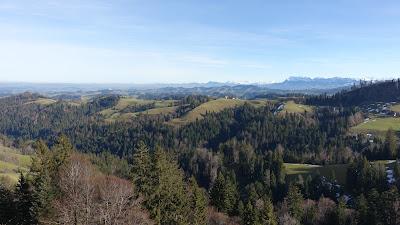 Blick über das Luzerner Hinterland