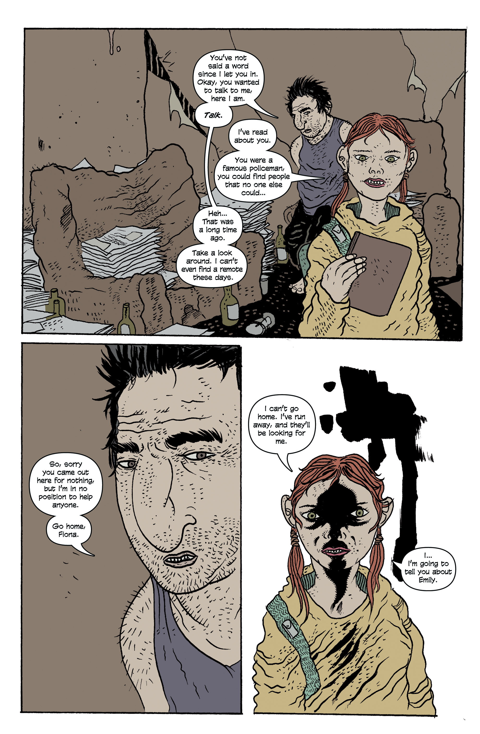 Read online And Then Emily Was Gone comic -  Issue #1 - 9