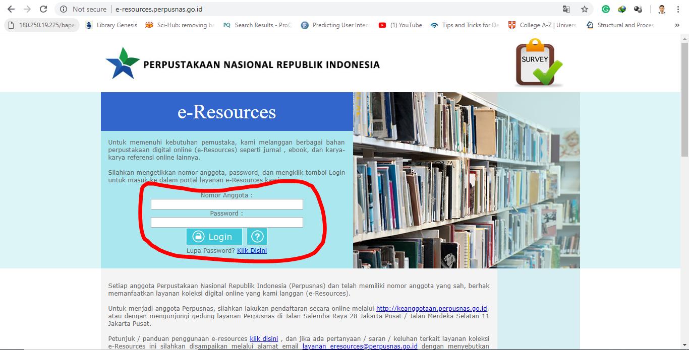 Cara Download Jurnal Nasional Dan Internasional Resmi Dari Perpustakaan Nasional Ri