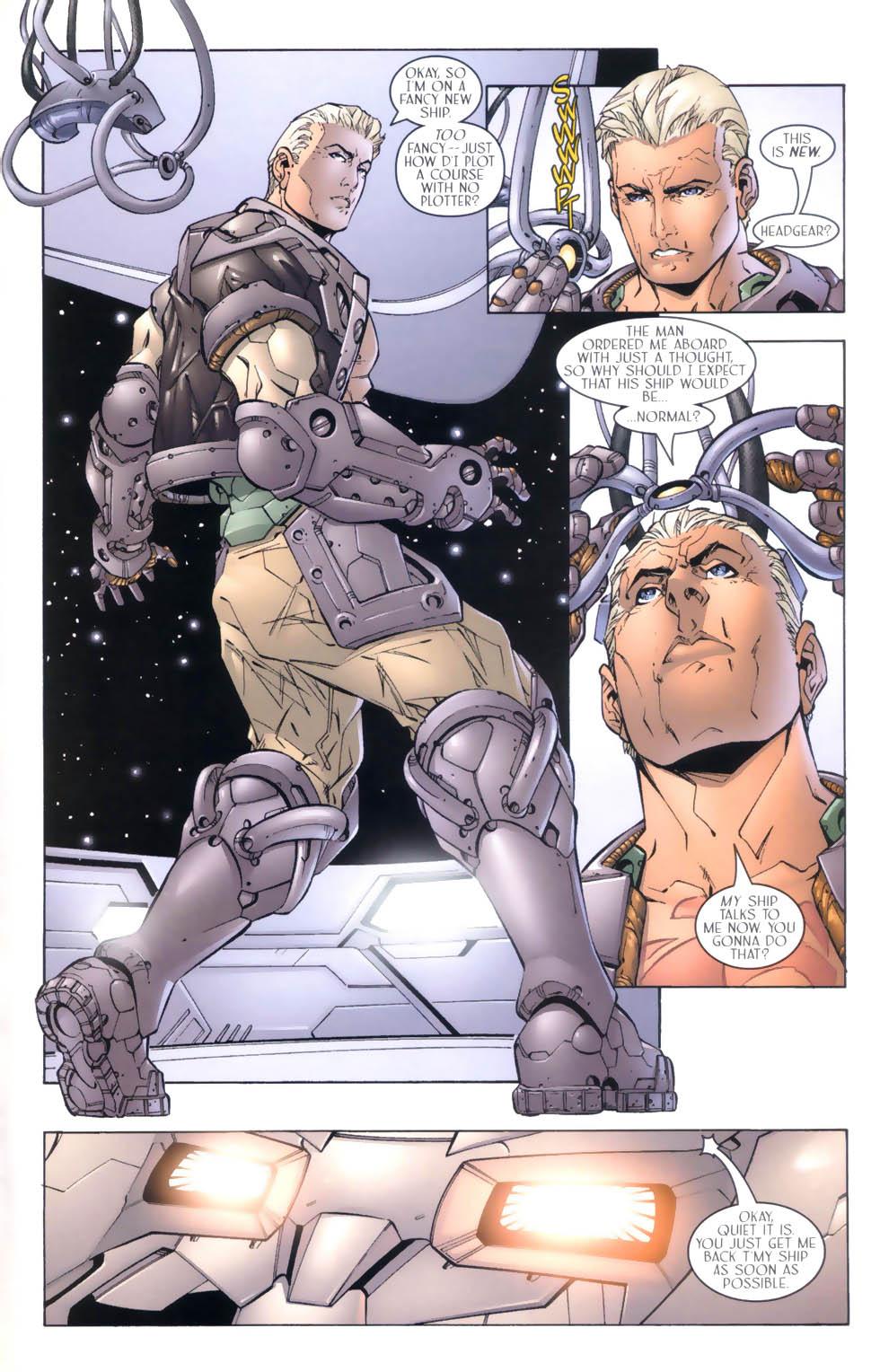 Read online Sigil (2000) comic -  Issue #4 - 24