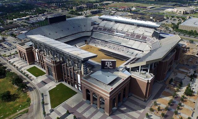 Estádio Kyle Field – College Station - Estados Unidos
